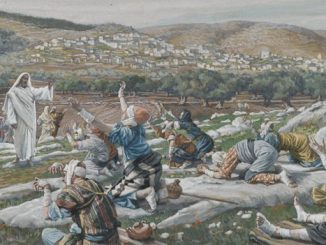 'The Healing of Ten Lepers' by James Tissot (late 19th century).