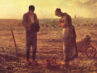 'The Angelus' by  Jean-Francois Millet (1859)