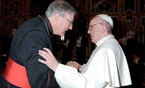 Cardinal Pell defends Pope Francis, criticizes Bp  Fellay