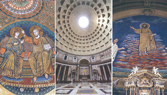 images from 'Roman Pilgrimage: The Station Churches'