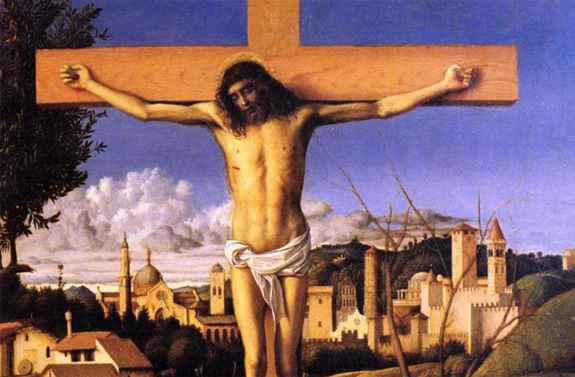 'The Crucifixion' by Giovanni Bellini (1501-03)