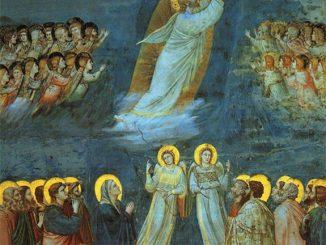 'The Ascension' (c. 1305) by Giotto di Bondone (Wikiart.org)