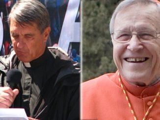Left: Fr. Joseph Fessio