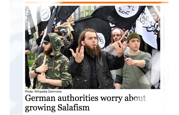 German police crack down on Salafist extremists