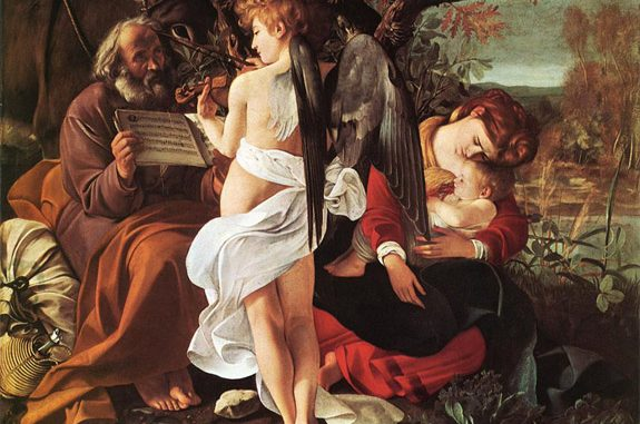 'Rest on the Flight into Egypt' (1597) by Michelangelo Merisi da Caravaggio