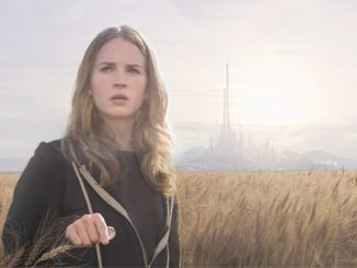 Britt Robertson stars in a scene from the movie 'Tomorrowland.' (CNS photo/Disney)