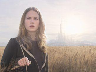 Britt Robertson stars in a scene from the movie 'Tomorrowland.' (CNS photo/Disney)