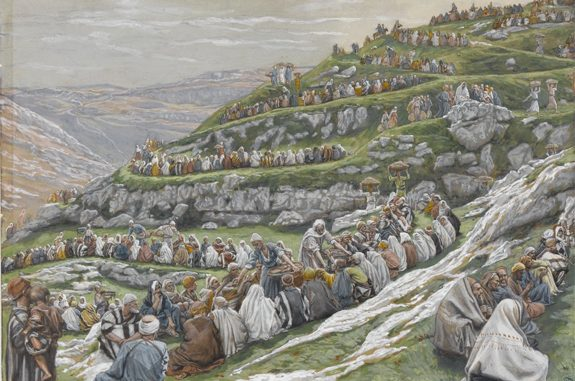 'The Feeding of the Five Thousand' (1886) by James Tissot [WikiArt.org]