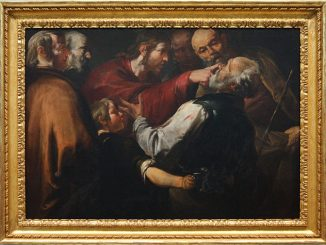 'Christ Healing the Blind Man' (c. 1640) by Gioacchino Assereto [Wikipedia Commons]