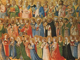'Christ Glorified in the Court of Heaven' (1428-30) by Fra Angelico [WikiArt.org]