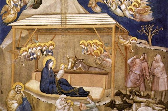 'Nativity' (c. 1311) by Giotto di Bondone [WikiArt.org]