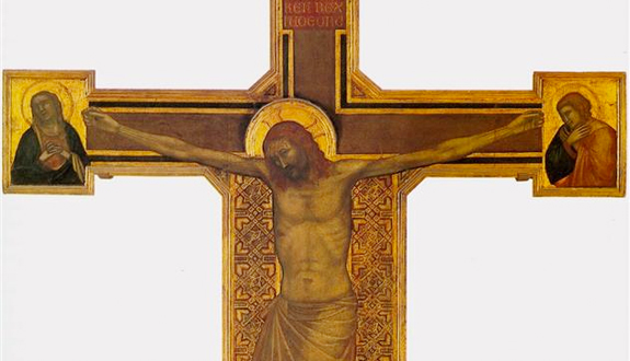 Detail from 'Crucifixion' (c.1315) by Giotto di Bondone [WikiArt.org]