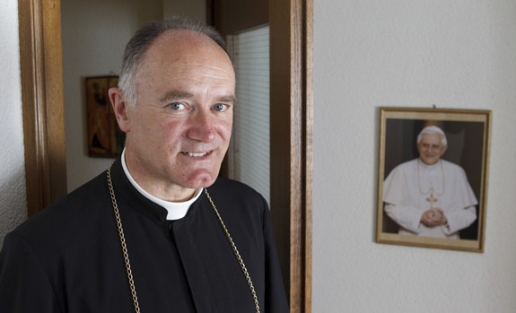 Pope Francis meets with SSPX General Superior Bishop Bernard Fellay