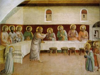 'Communion of the Apostles' by Fra Angelico (1440-41)