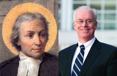 St. John Baptist de la Salle (left) and Brennan O'Donnell