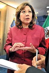 US Secretary of Labor Hilda Solis (CNS)