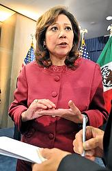 US Secretary of Labor Hilda Solis (CNS)
