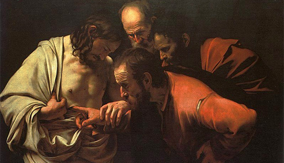 doubtingthomas Readings:• Acts 2:42-47• Psa 118:2-4, 13-15, 22-24• 1 Pet 1:3-9• Jn 20:19-31