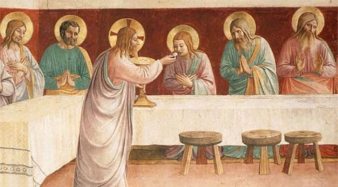 The Blessed Sacrament: It's either All or nothing – Catholic