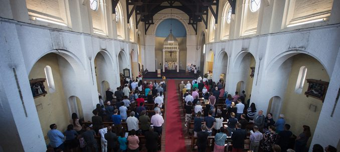 London's Church of the Most Precious Blood is a thriving and