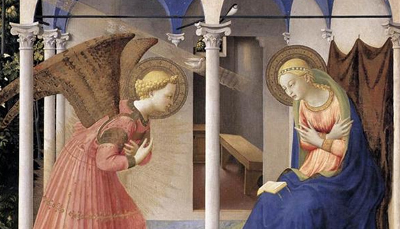 the annunciation and the mystery of the incarnation catholic world