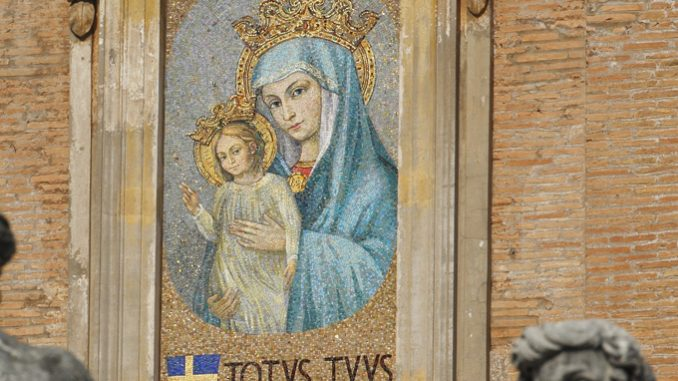 Mary, Mother of the Church, and two popes – Catholic World