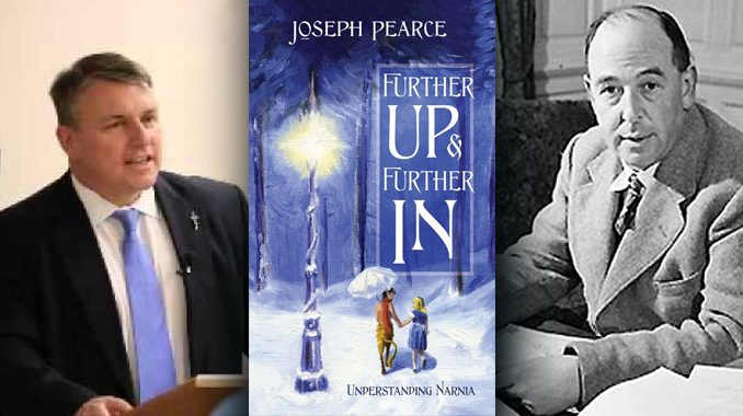 Image result for joseph pearce further up and further in