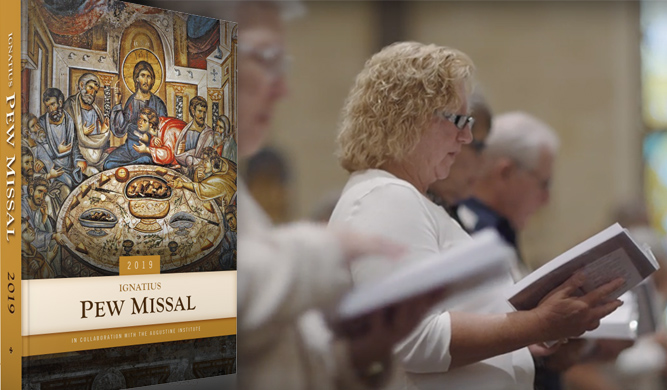 How the Ignatius Pew Missal is bringing chant, sacred hymns