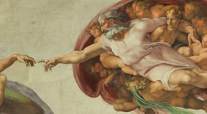 adam creation michelangelo schall Editor's note: This is the second part of a two-part essay. Read Part One here.