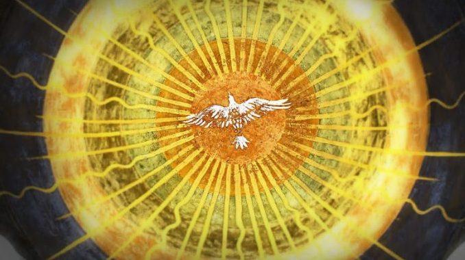 holyspirit mosaic Readings:• Acts 8:4-8, 14-17• Psa 66:1-3, 4-5, 6-7, 16, 20• 1 Pet 3:15-18• Jn 14:15-21