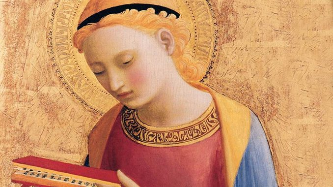 """rorate mary ps """"I rejoice heartily in the LORD, in my God is the joy of my soul."""" —Isaiah 61:10"""