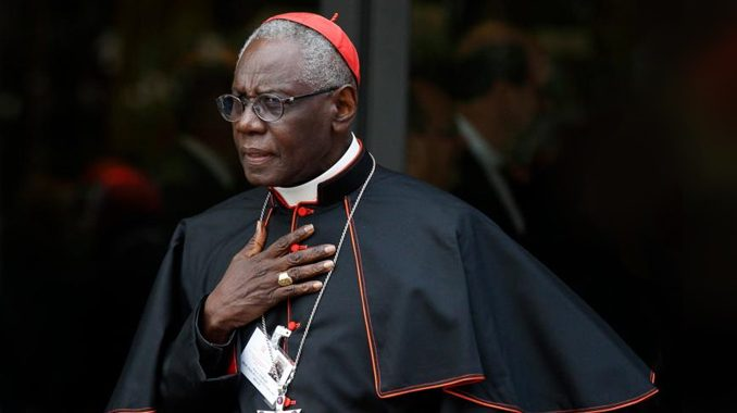 cardinalsarah 2018 vatican CNA Staff, Sep 12, 2020 / 11:35 am (CNA).- In a letter to the leaders of the world's episcopal conferences, the head of the Vatican's office for worship and sacraments said that Catholic communities should return to Mass as soon as it can be done safely, and that the Christian life cannot be sustained without the Sacrifice of the Mass and the Christian community of the Church.
