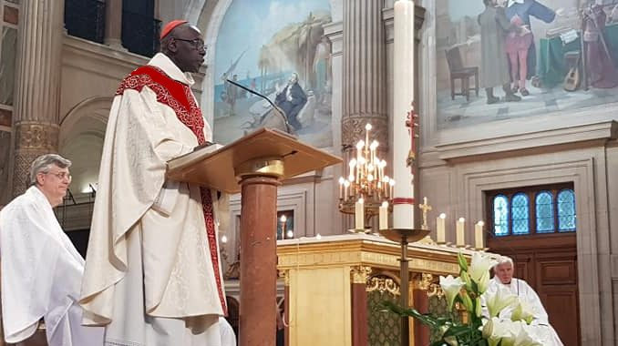 "Cardinal Sarah: ""We must rebuild the cathedral … We do not"