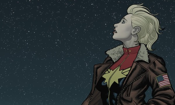 Captain Marvel Stargazing