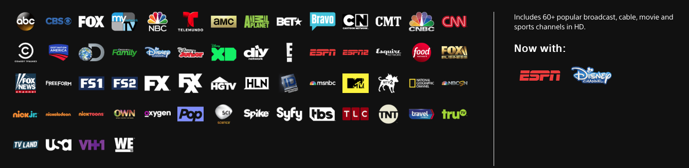 PlayStation Vue Access