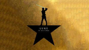 Luke the Son of Anakin