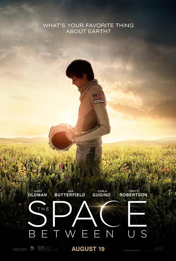 Space Between Us Poster