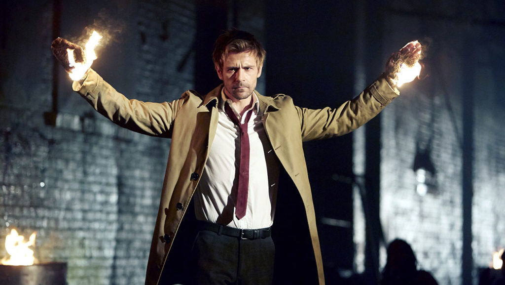 CONSTANTINE -- Pilot -- Pictured: Matt Ryan as John Constantine -- (Photo by: Quantrell Colbert/NBC)