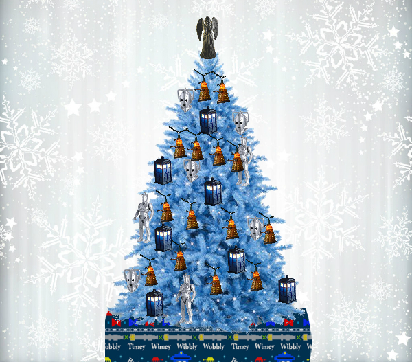 Doctor Who Christmas.A Doctor Who Themed Christmas Tree Allons Y