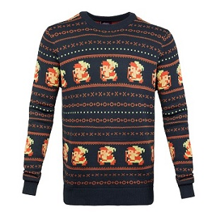 Hedgehog Christmas Sweater.Gamer Holiday Sweater Guide 2016