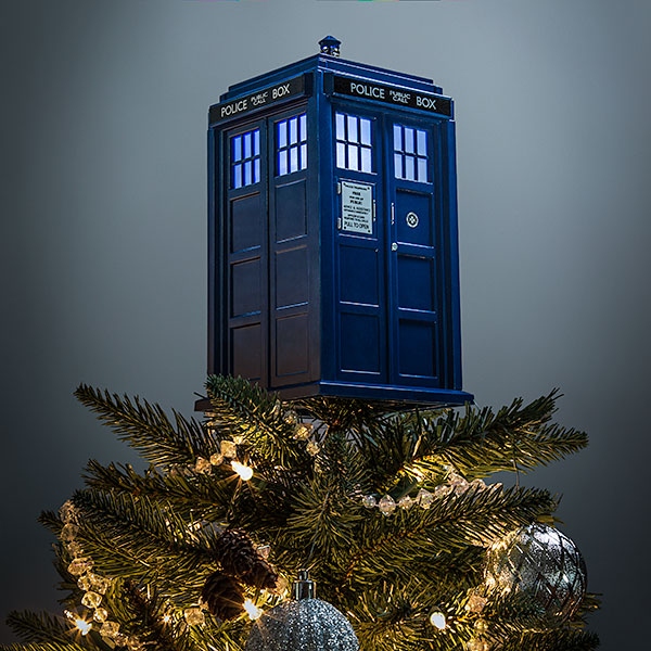 Marvel Christmas Tree Topper.A Doctor Who Themed Christmas Tree Allons Y