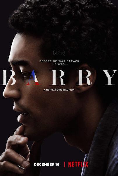 Barry Netflix Poster Barack Obama
