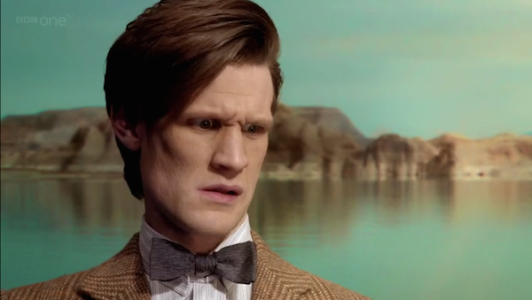 The Eleventh Doctor is very concerned about the treatment of 'fixed points in time' on Timeless.