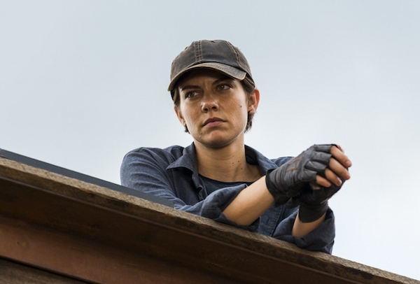 Lauren Cohan as Maggie Greene - The Walking Dead _ Season 7, Episode 8 - Photo Credit: Gene Page/AMC