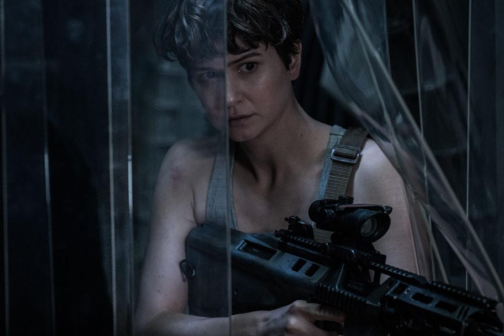 DF-14740 - Katherine Waterston as Daniels in ALIEN: COVENANT. Photo Credit: Mark Rogers.