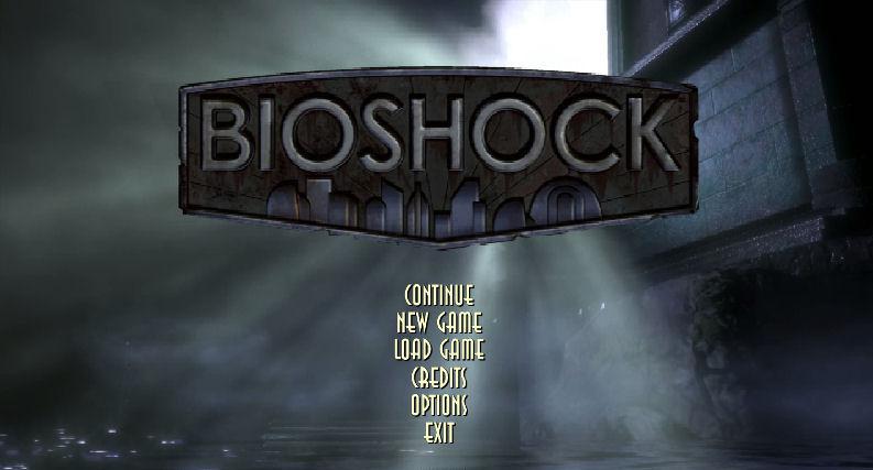 bioshock-menu