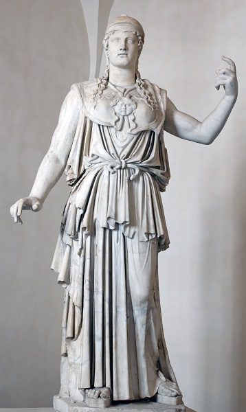 Athena statue signed by Antiokhos1st 1st Century BCE