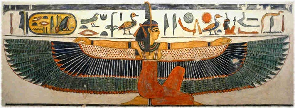 Ma'at Nefertari's Tomb (artist and date unknown)