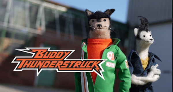 New Stop-Motion Animation Series BUDDY THUNDERSTRUCK is Coming to