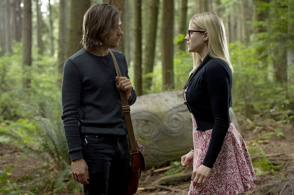 """THE MAGICIANS -- """"Divine Elimination"""" Episode 203 -- Pictured: (l-r) Jason Ralph as Quentin, Olivia Taylor Dudley as Alice -- (Photo by: Carole Segal/Syfy)"""